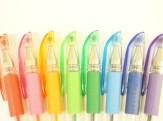 penne per scrittura a sfera colorate